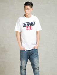 Acapulco Gold White Ag Stacked T Shirt
