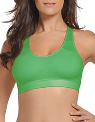 Jockey Seamfree Racerback Bra Lilly Green