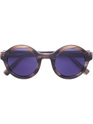Derek Lam 'Luna' Sunglasses Brown