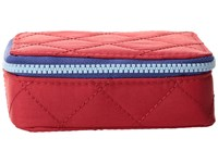 Baggallini Travel Pill Case Red Navy Wallet Multi