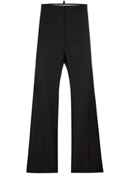 Dsquared2 Tailored Wide Leg Trousers Black