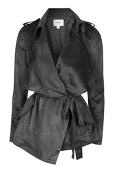Hildie Suedette Waterfall Jacket By Jovonna Grey