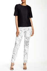 Insight Printed Lightweight Scuba Pant White