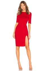 Bailey 44 Vive La Difference Ponte Dress Red