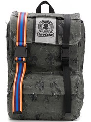 Invicta Destroyed Backpack Grey