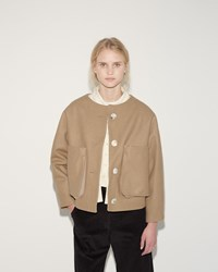 Eckhaus Latta Slump Jacket Camel