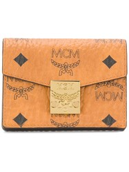 Mcm Small Wallet Brown