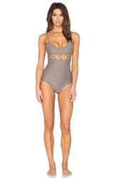 Cami And Jax Bianca One Piece Gray