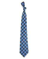 Eagles Wings Carolina Panthers Checked Tie Team Color