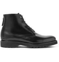 Want Les Essentiels Montoro Leather Boots Black