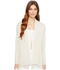Lilly Pulitzer Melly Cardigan Gilver Sweater White