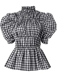 Romance Was Born Scullery Maid Rouched Blouse 60