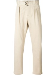 Andrea Pompilio 'Justin' Trousers Nude And Neutrals