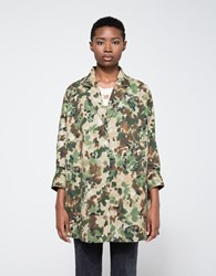 Rachel Comey Short Zia Trench Multi