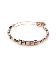 Alex And Ani Empress Of Jewels Crown Swarovski Crystal Bangle Bracelet Rose Gold