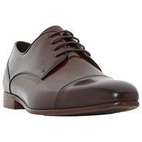 Dune Pierre Derby Shoes Brown