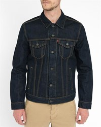 Levi's Dark Denim Pr Trucker Jacket Blue