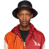 Heron Preston Black Ghost Fisherman Hat
