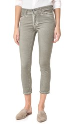 Ag Jeans The Prima Crop Sea Soaked Silver Sage