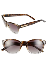 Bcbgmaxazria 52Mm Retro Sunglasses Brown Combo