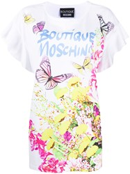 Boutique Moschino Floral Print T Shirt 60