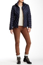 Tommy Hilfiger Chevron Quilted Packable Down Jacket