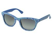 Lilly Pulitzer Maddie Polarized Polarized Smoke Mirror Polarized Fashion Sunglasses Blue