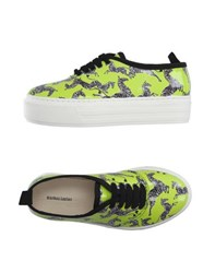 Markus Lupfer Footwear Low Tops And Trainers Women Acid Green