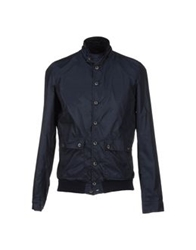 Gold Case By Rocco Fraioli Jackets Dark Blue