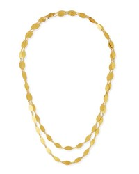 Gurhan Willow 24K Gold Long Single Strand Necklace 40