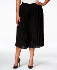 Ny Collection Plus Size Gaucho Pants Black