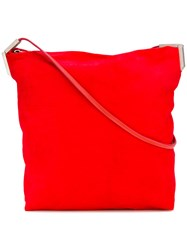 Rick Owens Classic Crossbody Bag Red