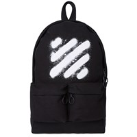 Off White Diagonals Spray Backpack Black