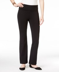 Thalia Sodi Solid Foldover Yoga Pants Only At Macy's
