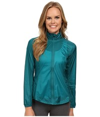 Brooks Lsd Jacket Kale Women's Coat Green