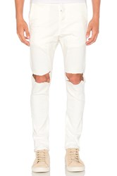 Daniel Patrick Low Crotch Ripped Skinny Jean Natural