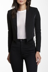 Fate Mesh Panel Blazer Black