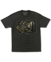Metal Mulisha Men's Graphic Print T Shirt Charcoal Heather