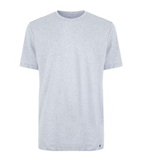 Hanro Jersey Melange Lounge Top Male Grey
