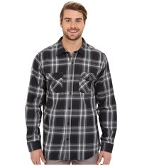 Hurley Dri Fit System Long Sleeve Black Men's Long Sleeve Button Up