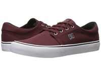 Dc Trase Tx Oxblood Skate Shoes Red