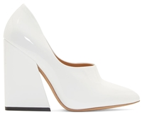 Acne Studios White Patent Ilona Pumps
