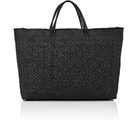 Truss Women's Woven Large Tote Bag Black