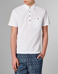 Farah Vintage Polo Shirt White