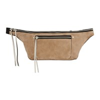 Rag And Bone Pink Suede Large Elliot Fanny Pack