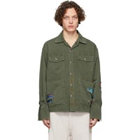 Greg Lauren Green Baker Boxy Studio Jacket