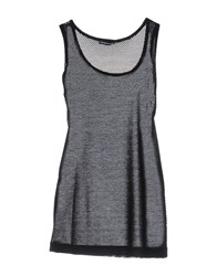 New York Industrie Tank Tops Black