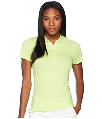 Callaway Opti Dritm Micro Hex Short Sleeve Polo Sharp Green Short Sleeve Pullover