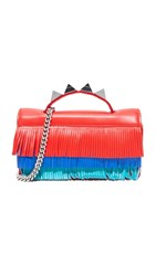 Salar Zoe Aloha Bag Poppy Blue Emerald