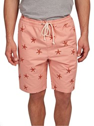 Hymn Starfish Printed Shorts Pink
